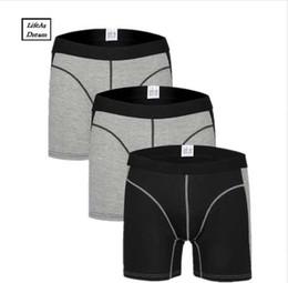 4bc78951598c Cuecas Calzoncillos 3pcs lot Men's Boxer Underwear Pants Cotton Men Shorts  Loose Calecon Pour Homme Mens Boxers Long Leg