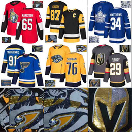 gold leaf embroidery 2019 - 2018 New Style Special Embroidery Jersey New York Rangers Vegas Golden Knights Pittsburgh Toronto Maple Leafs Ottawa Sen