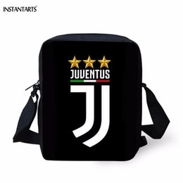 designer travel handbags Canada - INSTANTARTS Brand Designer Man Small Crossbody Bags  3D Printing Boys Messenger Bags Fashion Teen Travel Black Handbags
