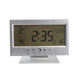 $enCountryForm.capitalKeyWord NZ - Newly LED Voice Control Alarm Desk Clock Weather Monitor Calendar with Electronic Digital Back-light Clocks 8 99 M