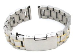 $enCountryForm.capitalKeyWord Canada - Free delivery Stainless steel solid strap straight head suitable for all flat-headed watches Very durable fashionable wristband