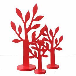 $enCountryForm.capitalKeyWord NZ - 3pcs set INS MDF Tree Figurines Green Wood Trees model Miniatures Living room bedroom Home Decoration Crafts Gifts Jewelry Rack