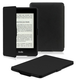 book case for ipad mini UK - Luxury Ultra Slim Magnetic Flip PU Leather Case Smart Cover for 6 6.0 Inch Amazon Kindle PaperWhite 1 2 3 958 899 E-Book
