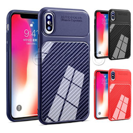 Venta al por mayor de Funda suave ultrafina Funda antideslizante para iPhone X Xs Xr Máx 8 7 6 6S Plus 5 5S Samsung Note 8 S7 Edge S8 Plus Nota 8 9 J4 J6 PLUS