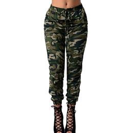 c8061a99d30 2018 New Fashion Camouflage Pants Women Print Elastic Waist Casual 5XL Plus  Size Camo Pants Army Green Long Trousers Sweatpants