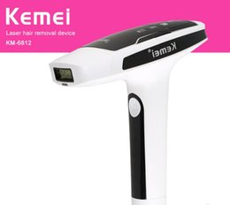 ladies body hair removal NZ - Kemei Photon Painless Laser Lady Epilator Hair Removal Bikini Painless Underarm Electric Body Depilatory Beauty Tool