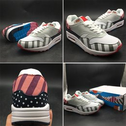 efd9f62853 2018 Piet Parra 1 White Multi Rainbow Park Netherland Designer Fashion  Casual Sport Sneakers Running Shoes Skateboaridng Trainers