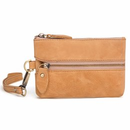 71f7b9fc07e5 New Arrivals Multi-function Key Wallets Unisex Universal Home Key Pouch for  Zipper Coin Purses Cowhide Housekeepers
