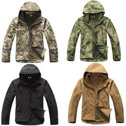 Discount tad jacket color - Shark skin Soft Shell Upgraded Lurker TAD V 5.0 Military Tactical Jacket Waterproof Windproof Army bomber jacket Clothin