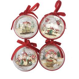$enCountryForm.capitalKeyWord NZ - More Size Christmas Tress Decorations Ball Transparent Open Plastic Clear Bauble Ornament Gift Present Box Decoration