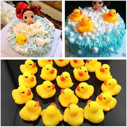 Classic Toys Toyzhijia 5pcs Baby Bathroom Water Pool Funny Toys Kawaii Mini Colorful Rubber Float Squeaky Sound Duck Bath Toy For Boys Gifts Bath Toy