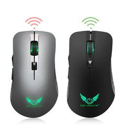 $enCountryForm.capitalKeyWord NZ - 2.4GHz 6-Keys Wireless Gaming Mouse with 2400 1800 1200 800DPI USB Mouse Gamer Built-in Rechargeable Battery for Computer Laptop