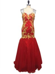 Beaded Mermaid Prom Pageant Dress UK - New Arrival Mermaid Prom Dress 2017 Sexy Sweetheart Appliques and Crystals Bandage Design Pageant Dresses for Women