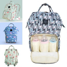 0930e04e221e Brand Land Multifunctional Baby Diaper Backpack 2018 Mommy Changing Bag  Cartoon Mother s Travel Maternity Outdoor Women Shoulder Backpacks