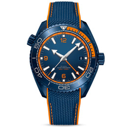 Men watches resistant online shopping - aaa luxury mens watches men luxury brand watch planet ocean m waterproof big bang ceramic rubber strap orologio di lusso da polso