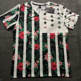 58edb6401 Floral collared shirt online shopping - Summer mens designer t shirt Fashion  V Collar Stretch Body