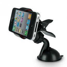 $enCountryForm.capitalKeyWord UK - New car phone stand GPS Cellphone Holder For Car, Mini ABS Mobile Phone Support, Silicone Sucker Type GPS Holde