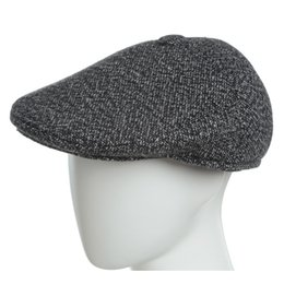 10c37e94b15add Beret Caps for man Autumn Winter Hat with Ear Flap Elder Man Fashion two  tone snowflake cotton outdoor cold proof hats