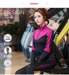 $enCountryForm.capitalKeyWord Canada - 5 pieces set Yoga Suit Women Sportswear Jogging Suits Gym drying clothes Yoga Sports pants For Lady