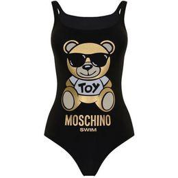 e6efdd531f40e Luxury Brand Bronzing Teddy Bear Bikini Bathing Suit Fashion Backless Sexy Women  Swimsuit Bikini Black Brand Designer High Quality Swimwear
