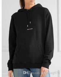 Standard p online shopping - New appen yeezusSAINT L P chest printing plus velvet padded hooded sweater men and women through short sleeves