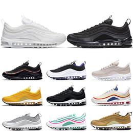 7e89ae0877010 97 zapatillas deportivas para hombre mujer negro Bullet Triple blanco OG  Sliver Bullet Zapatillas de deporte