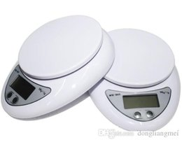 scale wholesalers NZ - cariel Portable Digital Scale 5Kg 1g Electronic Kitchen Good Helper Electronic Weight Scale 5Kg 1g battery included fast shipment j103B