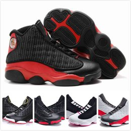 a1dcca540e9485 2018 Online Sale Cheap New 13 Kids basketball shoes for Boys Girls sneakers  Children Babys 13s running shoe Size 11C-3Y
