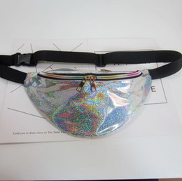 wholesale pillow packs Australia - New Holographic Fanny Pack Laser Waist Packs Heuptas Hip Bag Women's Waistband Banana Bags Waist bag Unisex bolso cintura -r
