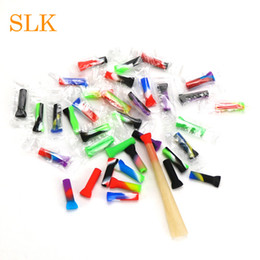 Roll cigaRs online shopping - Mini portable silicone cigar filter tips mouth tips popular tobacco filter tip rolling dry herb tips nwe packaging listed
