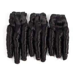 $enCountryForm.capitalKeyWord Canada - 10-20 Inch Funmi hair Bundles Spring Curly Brazilian Human Hair Weaves 3Pcs Raw Indian Peruvian Malaysian Human Hair Natural Color