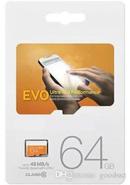 Sd Sdxc Sdhc online shopping - EVO GB Micro SD Card Class UHS SDXC SDHC Transflash TF Memory Card GB Single Card with Sealed Package