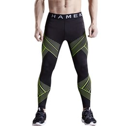 53c50600ba 2017 quick dry sport leggings men running tights compression skins gym  fitness basketball tights running training pants trousers