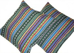 $enCountryForm.capitalKeyWord NZ - Unique 100% Handsewn Tribal Embroidery Sofa Couch Cushion Pillow Cover #401 Pair