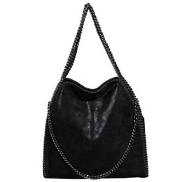 Low Price Messenger Bags UK - Lowest Price Women Messenger Shoulder Bags PU Falabellas Hobo Clutch Chains Evening Socialite Tote Sac A Main Female Handbag D18102906