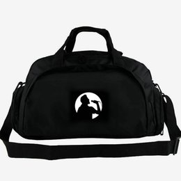 tote bags compartments UK - Elvis Presley duffel bag The king singer tote Rock star music backpack 2 way use luggage Daily shoulder duffle Sport sling pack