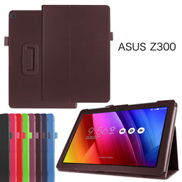 $enCountryForm.capitalKeyWord Australia - Hot Litchi Leather Case for Asus Zenpad 10 Z300 Z300C Z300CL Z300CG Z300M Z301 Z301ML Tablet Stand Flip Cover+Stylus