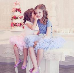 dfa90d751a500 Hot Mode Enfants Robes Petite Fille Tutu Jupe Fleur Fille Robes Princesse  Tulle Partie Danse Jupes Pour Le Mariage Invité Parti robe Pas Cher