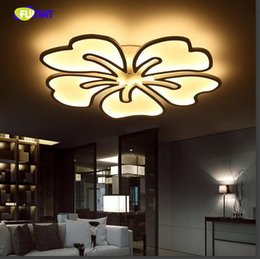 Discount princess room lamps - 2018 new flower shape children room princess led to absorb dome light sweet bedroom lamp dimming