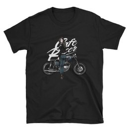 China Biker T-Shirt mens gift motor bike rider chopper motorcycle rock Cafe Racer Tee Quality Print New Summer Style Cotton top tee suppliers