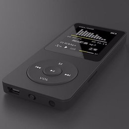 Tft Speakers NZ - Speaker Mp3 Music Player 1.8'' TFT Black 16G MP3 HiFi Lossless Sound Music Player FM Recorder TF Card Hidden Voice Recorder @Z