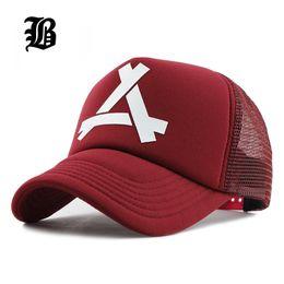 4fe17f49f1ee3 Red man tRuckeR hat online shopping - Flb New Summer Baseball Mesh Cap  Snapback Dad Hat
