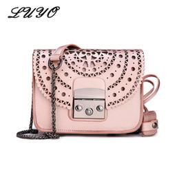 b9ac933f42b28 Fashion Women Genuine Leather Messenger Bag Ladies Handbag Small Crossbody  Bags Flap Famous Brands Designers Girls Shoulder Bags