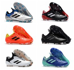 2cffdc4f832 2018 new arrival mens leather soccer cleats Copa 18.1 FG soccer shoes copa  mundial 18 chaussures de football boots scarpe calcio