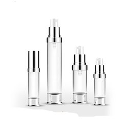 $enCountryForm.capitalKeyWord UK - 300pcs 5ml 10ml 15ml 30ml Travel Mini Refillable Empty Atomizer Perfume Bottle Pump Spray Case airless pump cosmetic containers