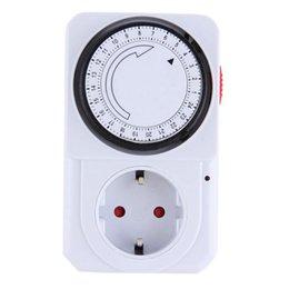 Новое Прибытие Практическая Механическая Электрическая Вилка Программа Таймер Выключатель Питания Экономия Энергии 24 Часа