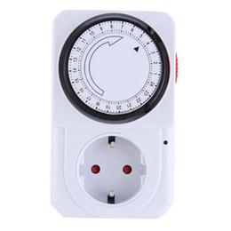 Großhandel Neue Ankunft Praktische Mechanische Elektrische Stecker Programm Timer Power Switch Energy Saver 24 Stunden