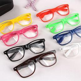 88409563ac1 Rivet Sunglasses Retro Vintage Square Full Frame Eyeglass Metal Sun Glasses  Punk Geek Style Clear Lens Glasses 300pcs OOA4730
