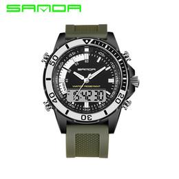 Brand Luxury Style Watch Australia - 2018 ANDA Shock Watch 3ATM military style Brand Luxury Men's Digital silicone men outdoor sports watches multicolor Relogio Masculino