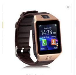 Smart Watch Use Dhl For Shipping Australia - 10pcs SmartWatch DZ09 Smart Watch Support Bluetooth SIM TF Card Passometer With Battery Wristwatches For Andriod Phone DHL free shipping